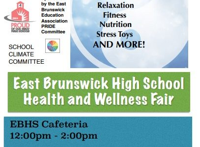 Come celebrate the end of midterms at the Health and Wellness Fair! Tuesday, January 28th directly after school from 12:00pm - 2:00pm. Late Bus Routes at 1:30pm CLICK HERE to complete the Wellness Fair Attendance Form! Free Food!  Raffles!  Stress Gadget Give Aways! And more!
