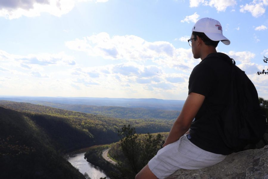 "Joseph Ramnarine, 12, has been taking advantage of the nice weather, ""reaching new heights, both literally and figuratively,"" as he explores new trails in New Jersey."