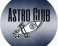 "The profile picture of the Astronomy Club's Instagram; it is affectionately dubbed, ""Astro Club"" for convenience."