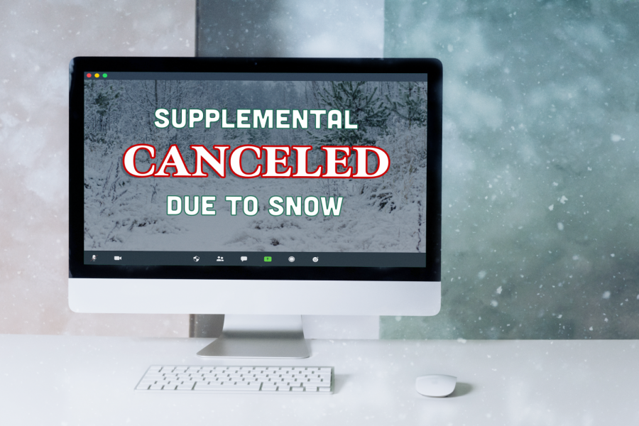 "On December 17, supplemental instruction was canceled because of Winter Storm Gail. ""It'll be time to get outside, take pictures and enjoy the moments these times bring,"" said Superintendent Dr. Valeski in a phone call to the EBPS community."