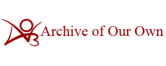 The logo of Archive of Our Own, also known as Ao3. It's a free online host for fanfiction from around the world.