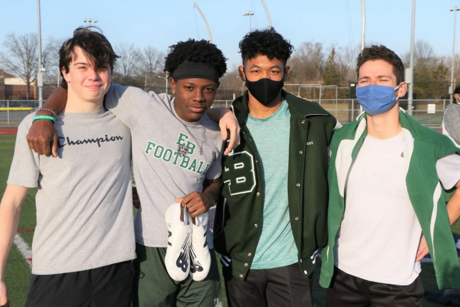 Ice in their Veins: The Boys Winter Track Team Withstands the Cold