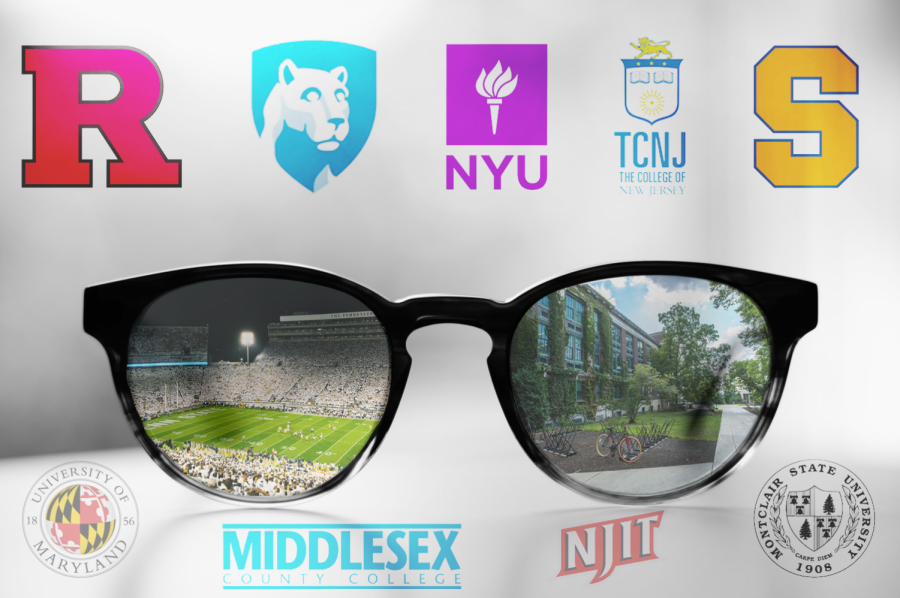 There are thousands of colleges in the U.S. Which one will you attend?