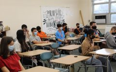 Photo of students in Homeroom