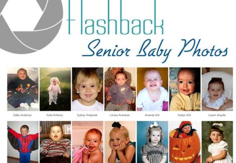 Senior Baby Photos: One of the cutest sections in the yearbook!